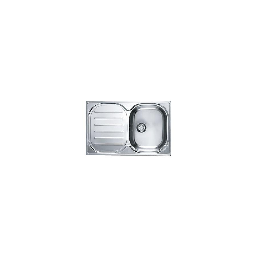 Franke Compact CPX P 611-78 Kjøkkenkum 780x500 mm For nedfelling/underliming