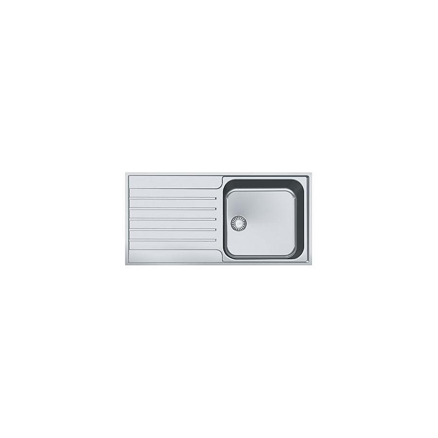Franke Argos AGX 211-100 Kjøkkenkum 1000x510 mm For nedf/plan-/underliming