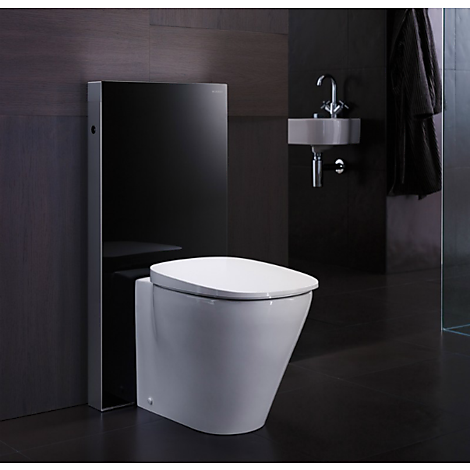 geberit monolith plus frist ende cistern f r golvst ende wc stol vitt glas. Black Bedroom Furniture Sets. Home Design Ideas