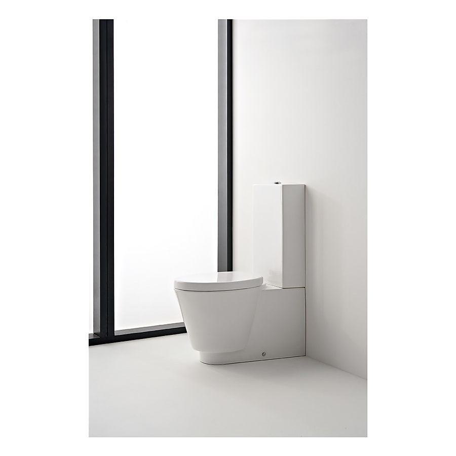 Scarabeo Wish Gulvstående toalett 720x355 mm Hvit