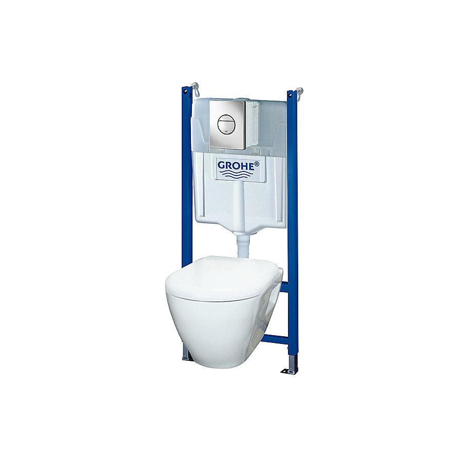 Grohe Solido Percect Toalettpakke Inkl.sisterne og trykknapp.