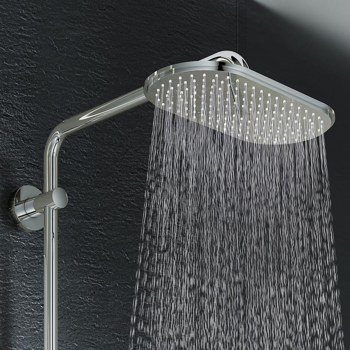 grohe rainshower 310 dusjsystem 300x150 mm. Black Bedroom Furniture Sets. Home Design Ideas