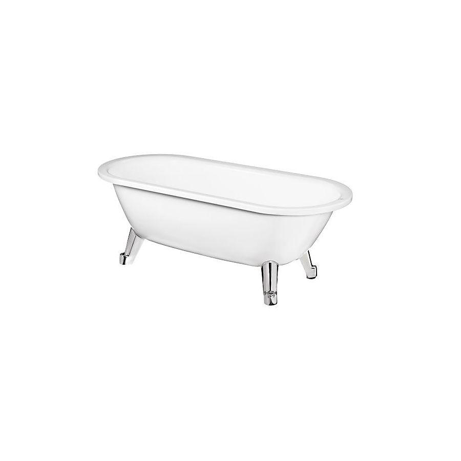 Gustavsberg 6316 Frittstående badekar 1580x680 mm Perfect White uten ben