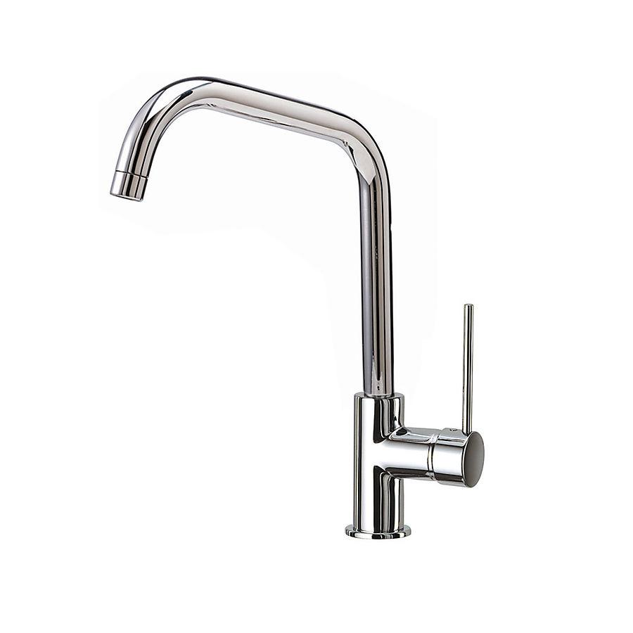 Hafa Stream Square kjøkkenarmatur Krom m/avstengning for oppvaskmaskin