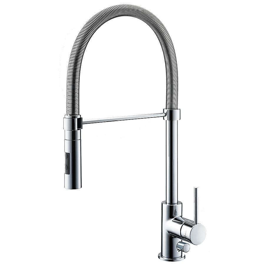 Hafa Spring Chrome kjøkkenarmatur Krom m/avstengning for oppvaskmaskin