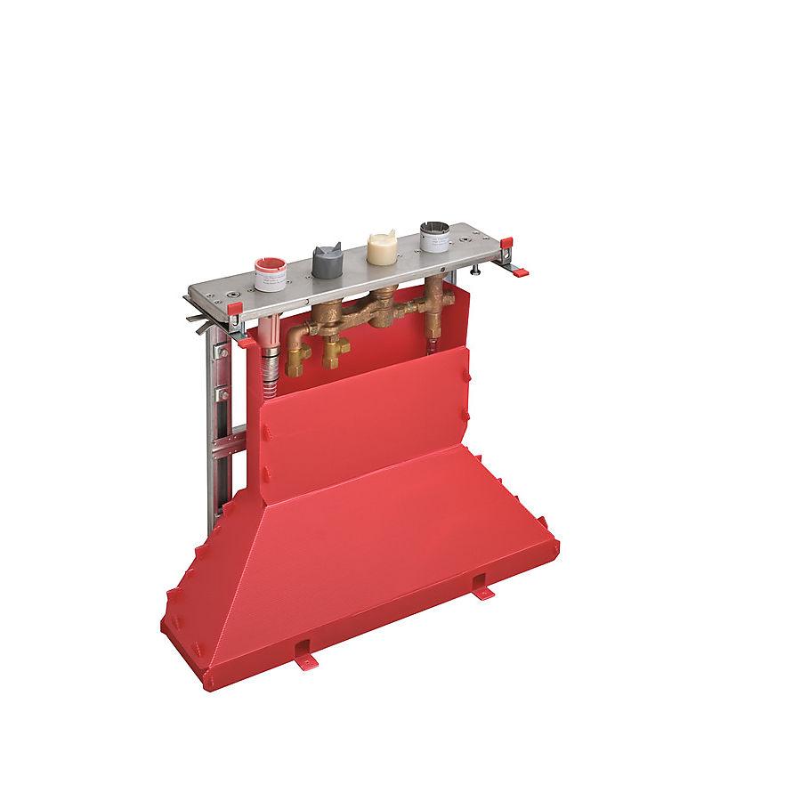 Hansgrohe Innbygningsdel til karbatteri For montering under fliskant