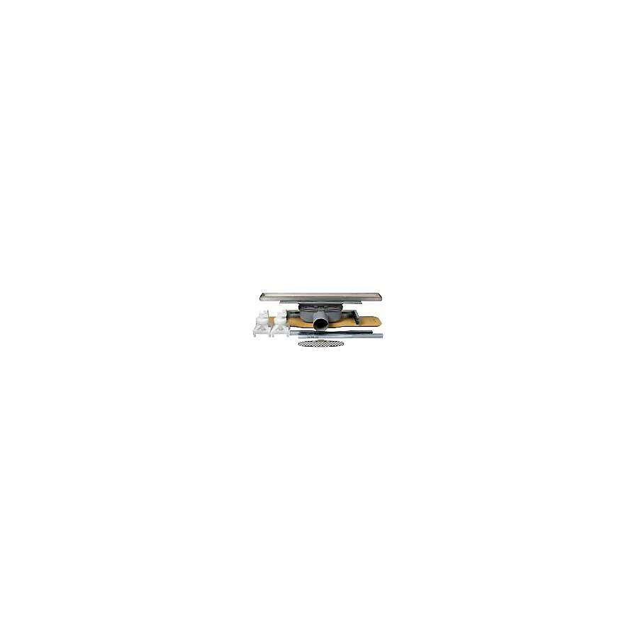 Purus Line Tile komplett slukpakke Sideutløp Ø 50 mm 600 mm