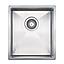 10002 Lavabo  Lavabo Kubus 340 Soft Diskbänk 380x440 mm. Rostfritt stål