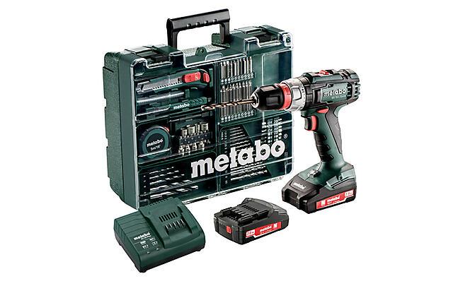 bef8e2836 METABO DRILL BS 18 L Q 2X2,0AH WORKSHOP 18 volt, med batteri, lader ...
