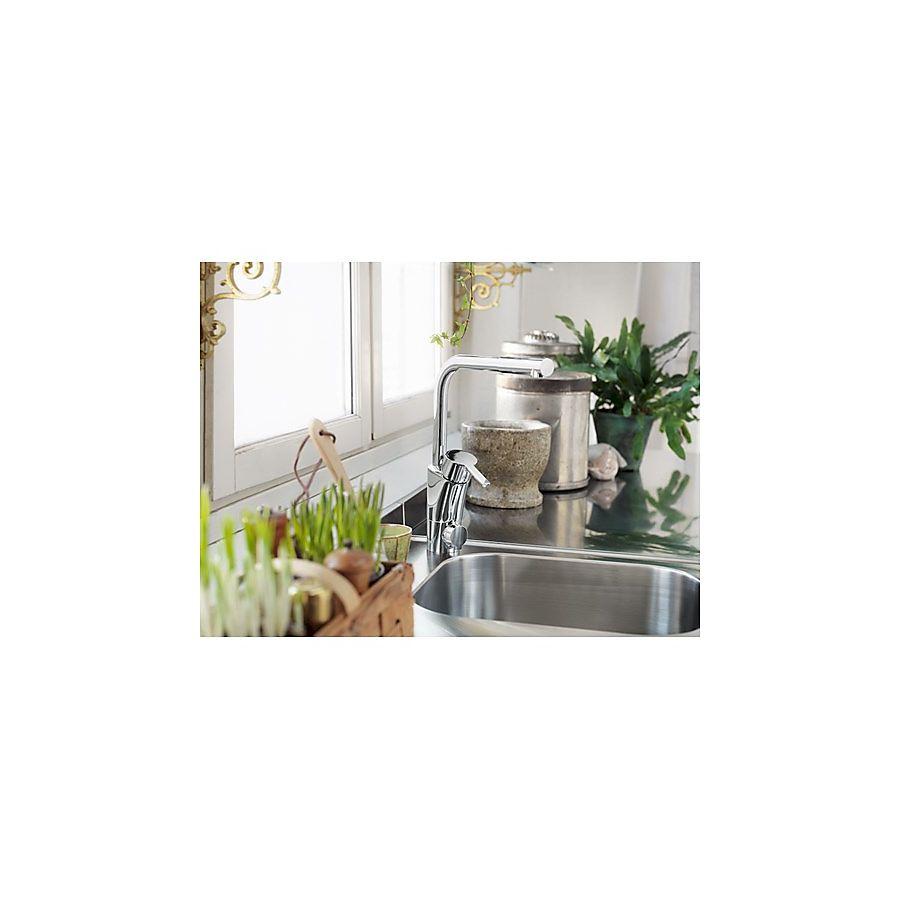 Mora MMIX K6 kjøkkenarmatur Med avstegning til oppvaskmaskin Krom