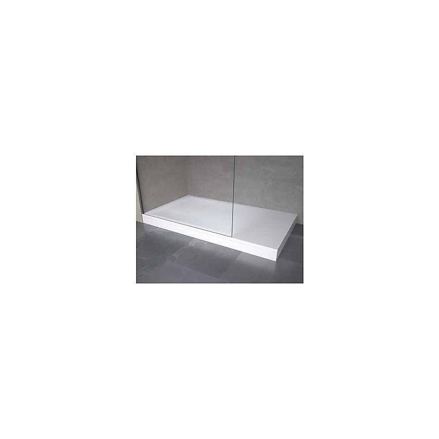 Novellini Novosolid Panelkit 150 100-150 cm Hvit Matt