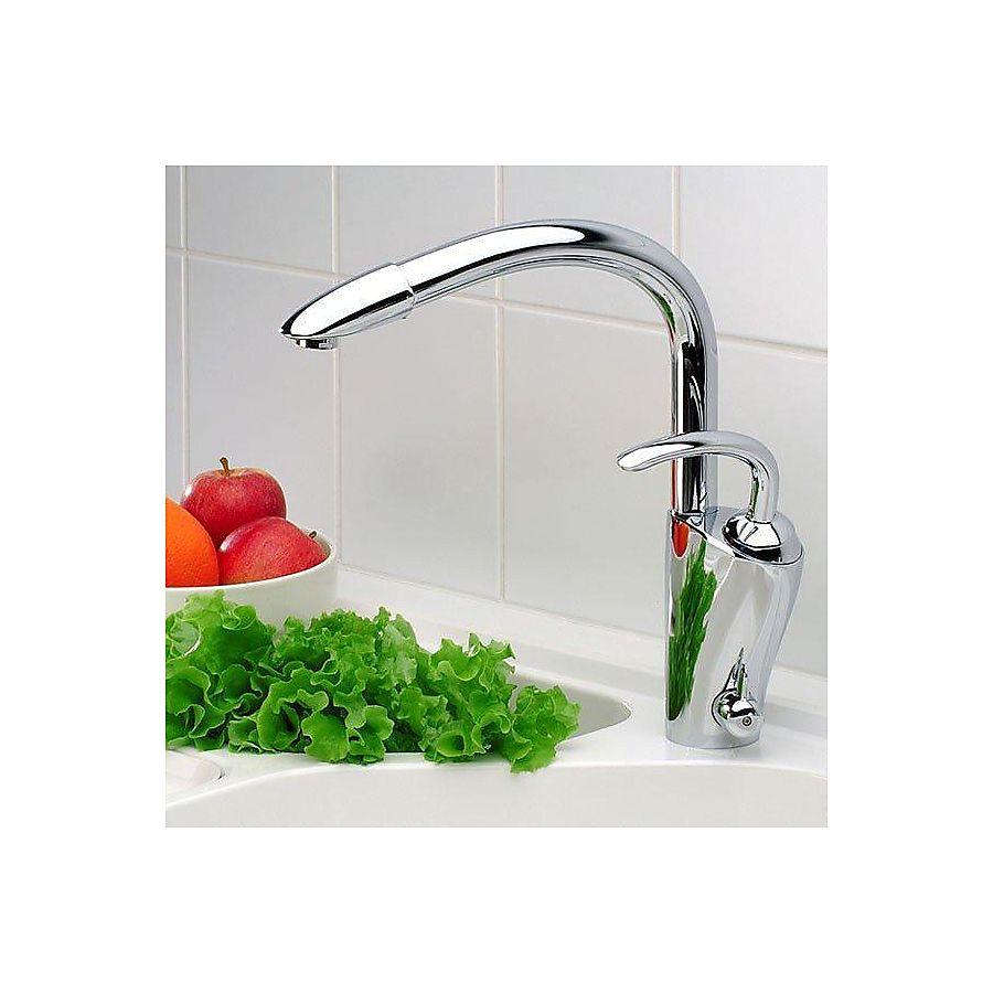 Oras Aventa kjøkkenarmatur Med avstengning til oppvaskmaskin Krom