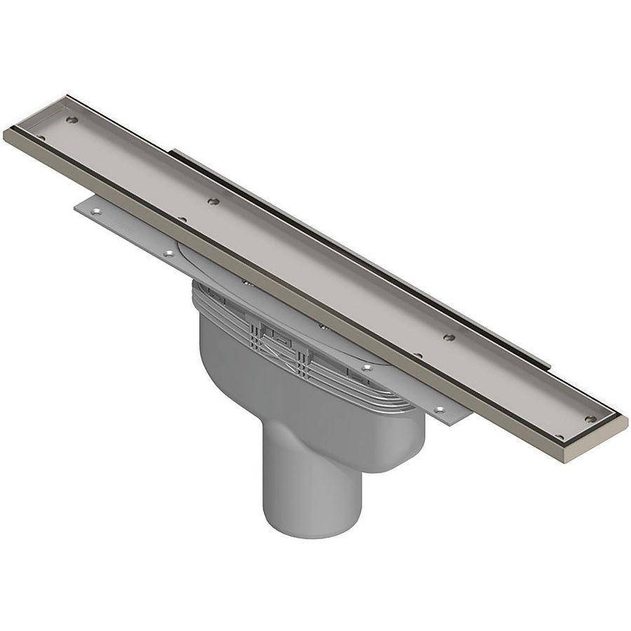 Purus Line Tile komplett slukpakke Bunnutløp Ø 50 mm 700 mm