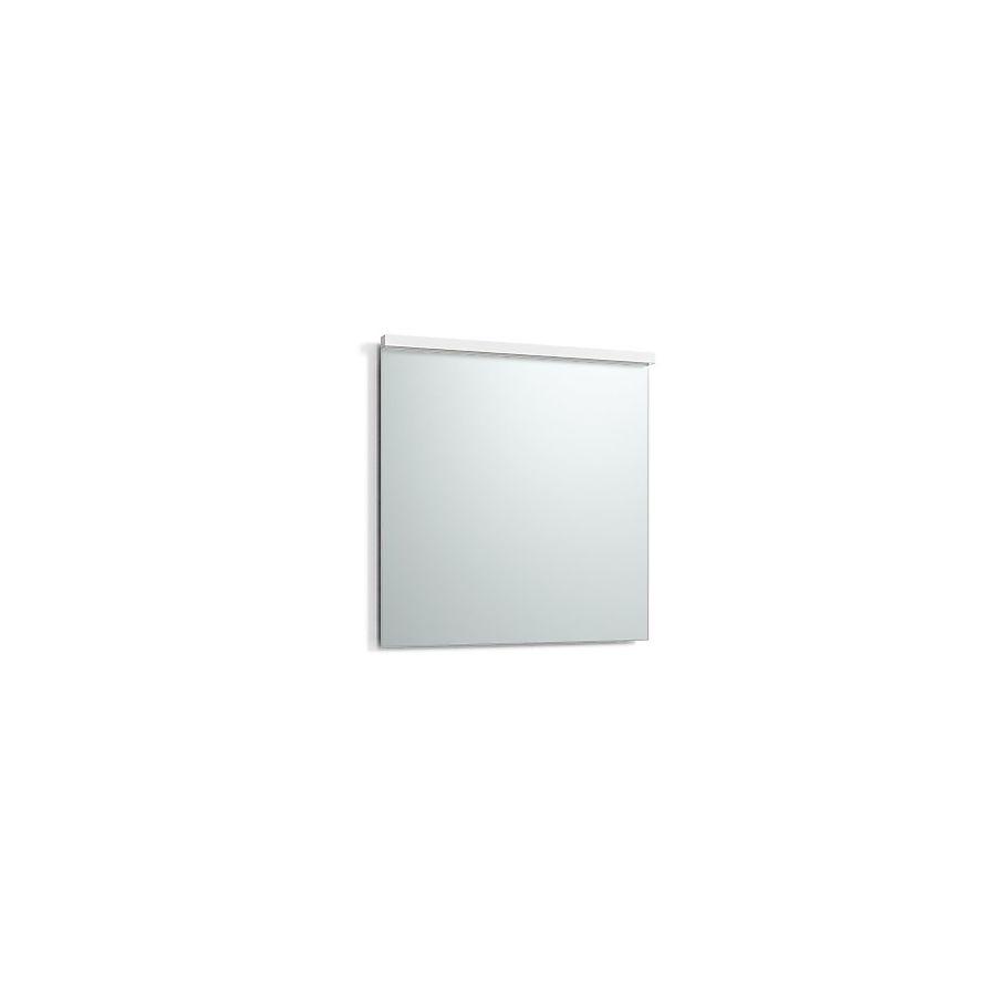 Svedbergs Imago Speil m/LED-lys 800x800 mm m/underlys Hvit Matt