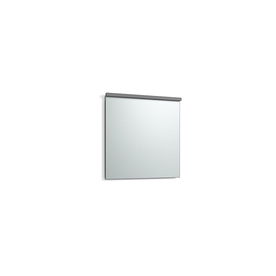 Svedbergs Imago Speil m/LED-lys 800x800 mm m/underlys Antrasittgrå