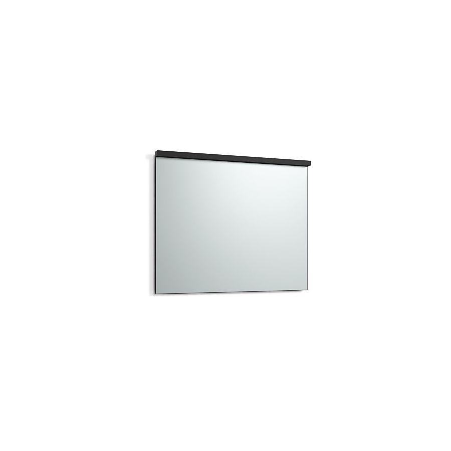 Svedbergs Imago Speil m/LED-lys 1000x800 mm m/underlys Sort Matt