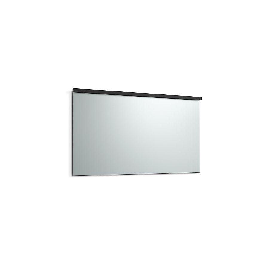 Svedbergs Imago Speil m/LED-lys 1400x800 mm m/underlys Sort matt
