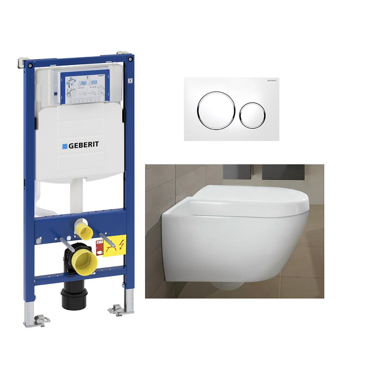 v b subway 2 0 toalettpakke inkl sete lokk sisterne og trykkplate. Black Bedroom Furniture Sets. Home Design Ideas