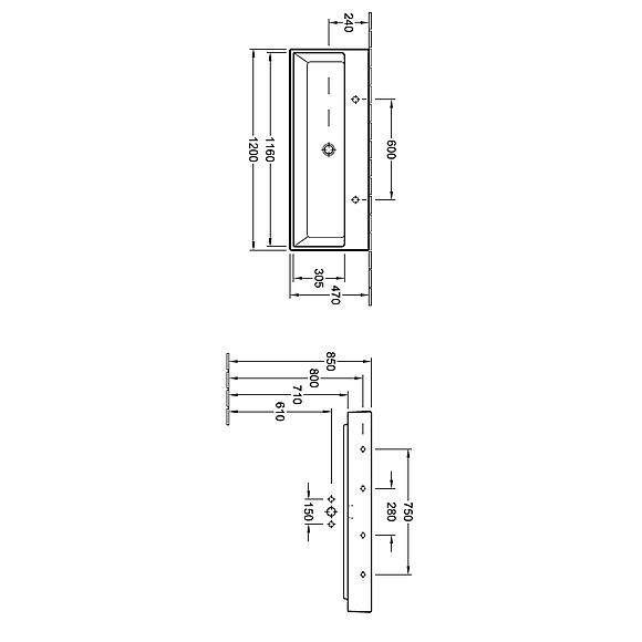 v b memento v ggh ngt tv ttst ll 1200x470 mm 2 blandarh l. Black Bedroom Furniture Sets. Home Design Ideas