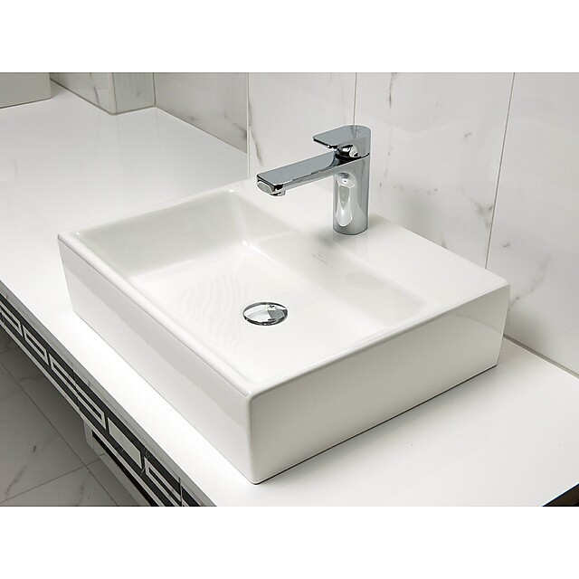 v b memento toppmontert servant 600x420 mm m overl p glassert bakside. Black Bedroom Furniture Sets. Home Design Ideas