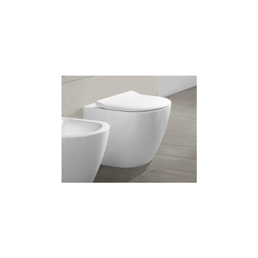 V&B Subway 2.0 Gulvstående toalett 370x560 mm med DirectFlush