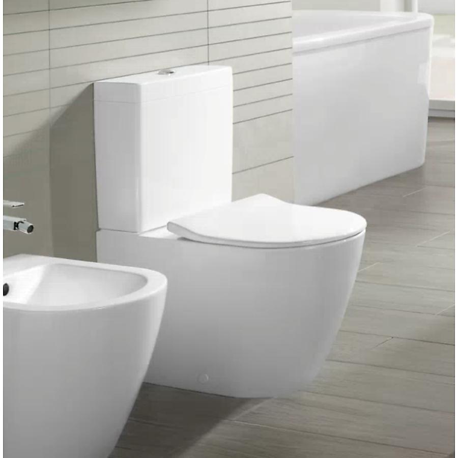V&B Subway 2.0 Gulvstående toalett 370x700 mm m/DirectFlush