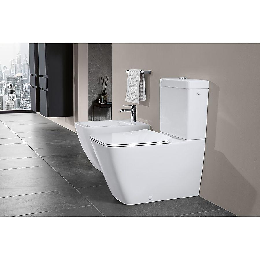 V&B Legato Gulvstående toalett 375x700 mm m/DirectFlush. C+