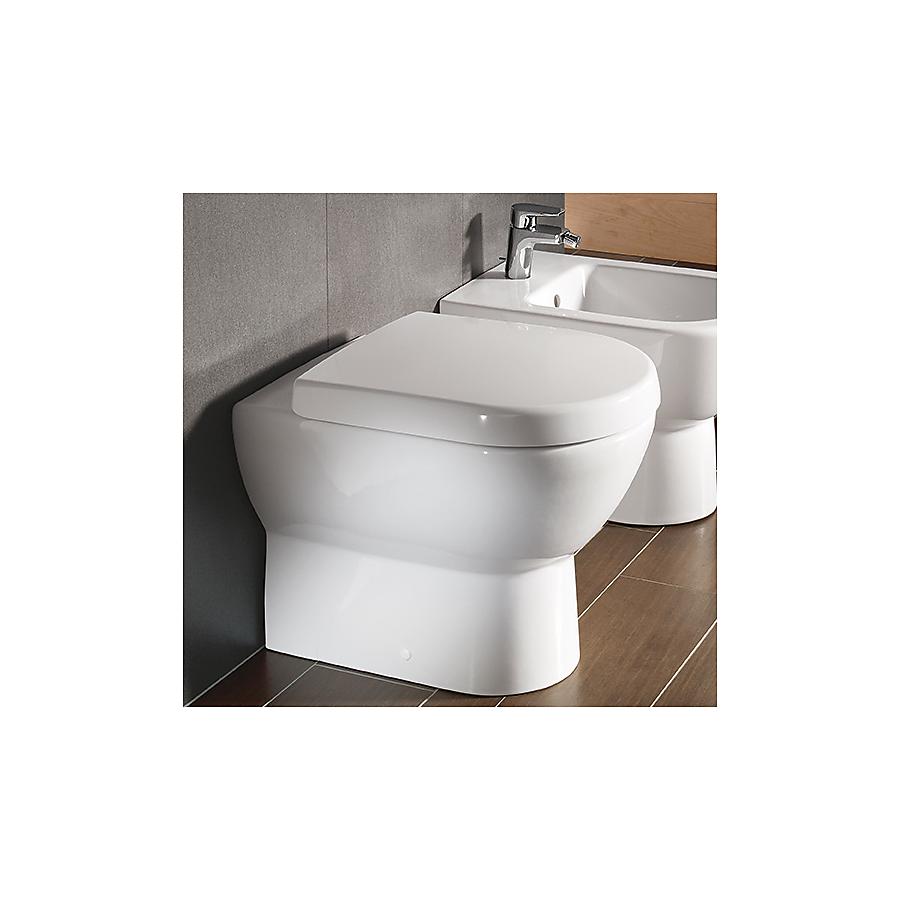V&B Subway Gulvstående toalett 370x560 mm Alpinhvit