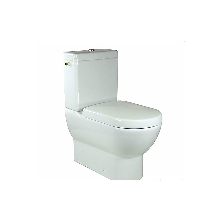 66101001 Villeroy & Boch  V&B Subway, Golvstående toalett 370x670 mm, Alpinvit.