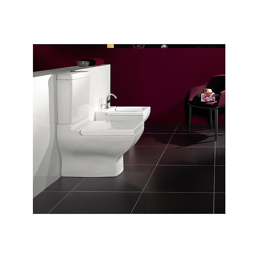 Villeroy&Boch La Belle gulvstående toalettskål for kombinasjon