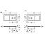 671902S5 Villeroy & Boch  V&B Subway 60 XL Diskbänk i porslin 1000x510 mm, skål höger, vriventil