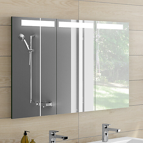 v b my view in speilskap for innbygging 600x750 mm m led lys og stikkontakt. Black Bedroom Furniture Sets. Home Design Ideas