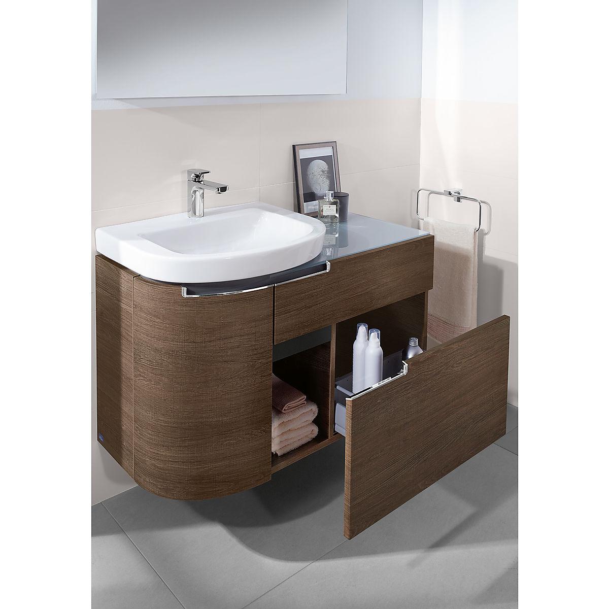 v b subway 2 0 xxl servantskap venstre 989x590 mm eik grafitt s lvgr matt kr. Black Bedroom Furniture Sets. Home Design Ideas