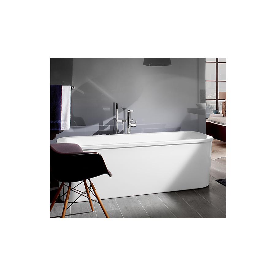 V&B Loop&Friends Frittstående badekar 1800x800 mm. Inkl. paneler og bensett