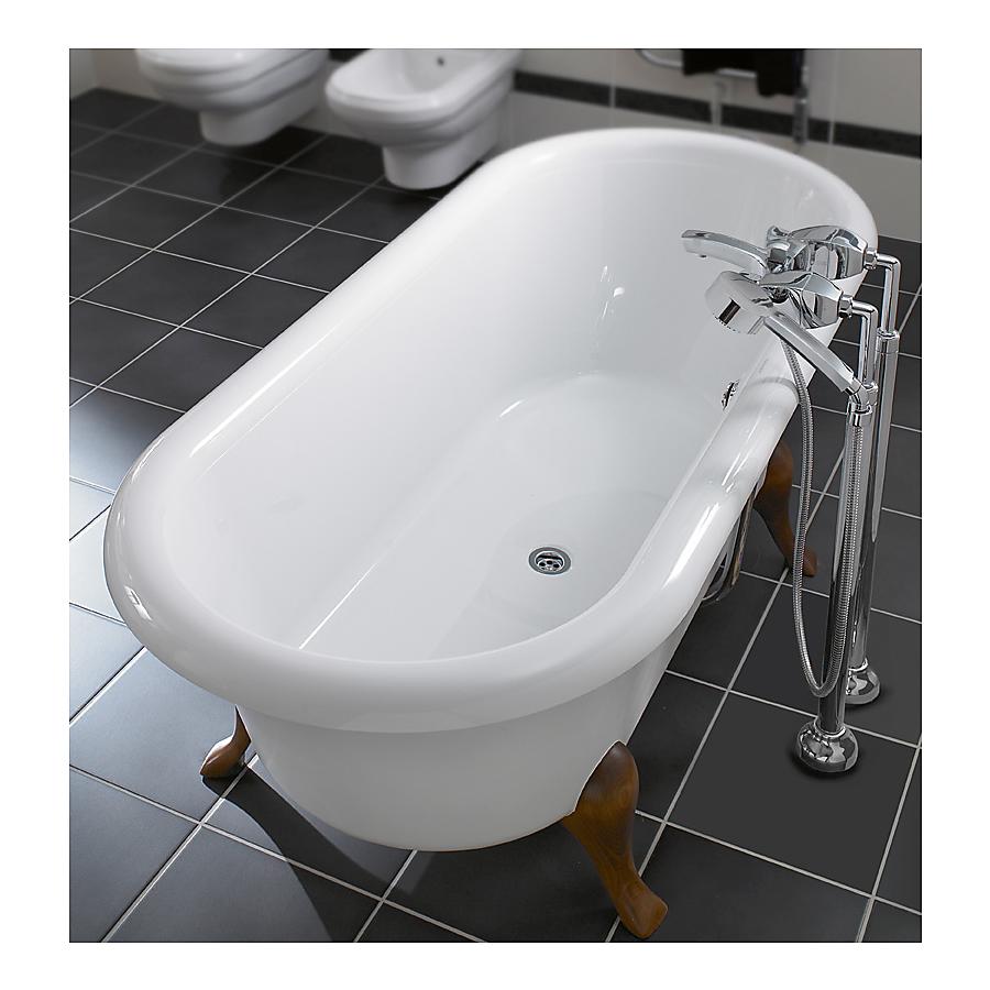 V&B Hommage Frittstående badekar 1771x771 mm Produsert i Quaryl