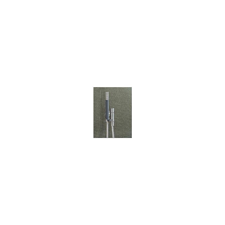 Vola 070M holder med kontraventil Inkl. hånddusj og metallslange børstet