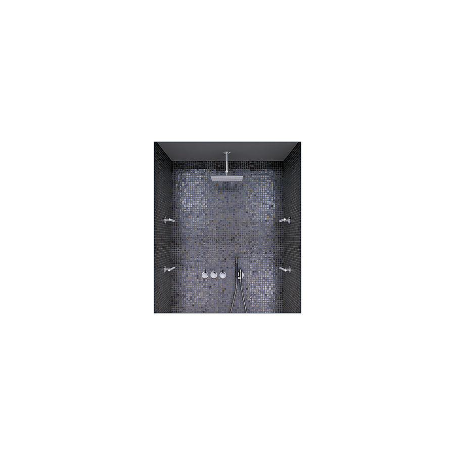 Vola Combi-10 Dusjsystem 3 veis 4 sidedusjer tak- og hånddusj Krom