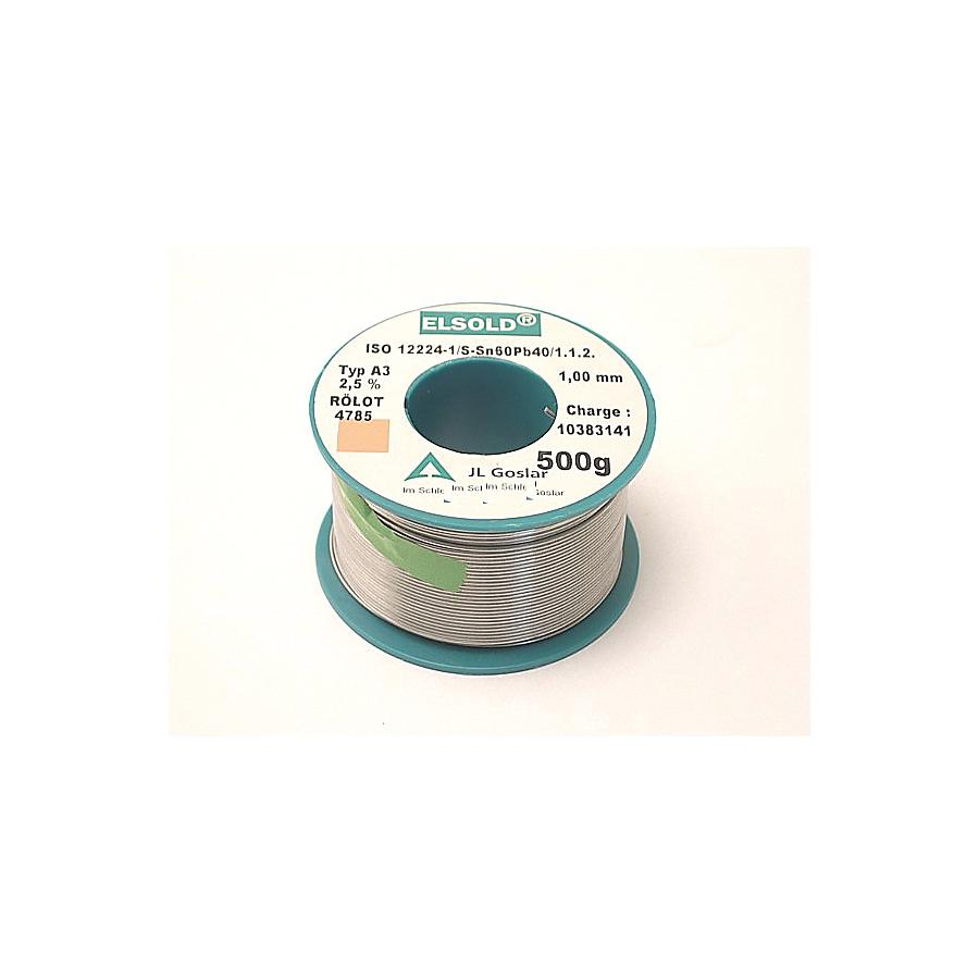 Elsold Loddetråd 60%, 1,0 Mm Cw Rs-3 L-sn60